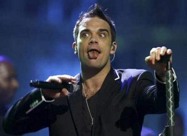 Robbie Williams.