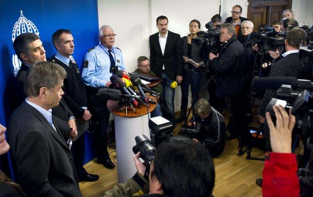 Lögregluyfirvöld fóru yfir stöðuna með blaðamönnum í morgun.