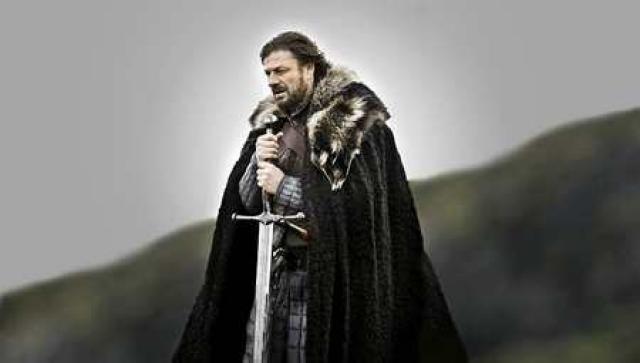 Leikarinn Sean Bean í Game of Thrones.