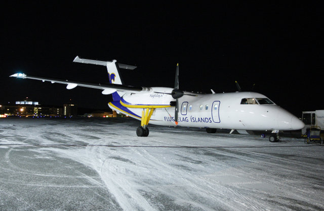 Air Iceland domestic flights are back on schedule today.