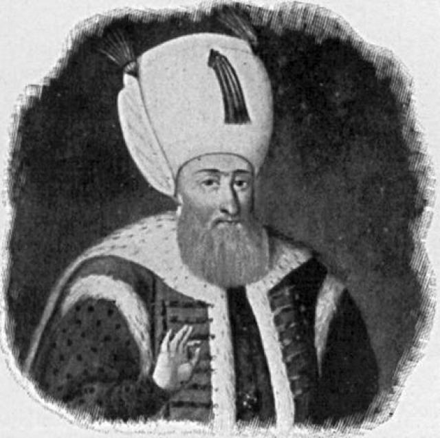 Soldáninn Suleiman hinn stórkostlegi.