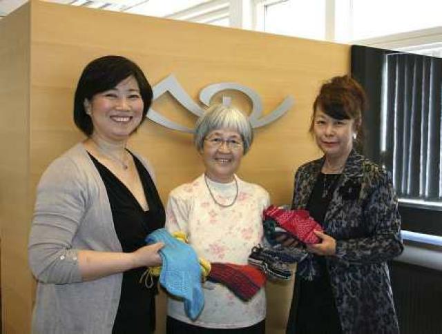 Miyako Þórðarson, Yoko Arai og Yayoi Shimomura.