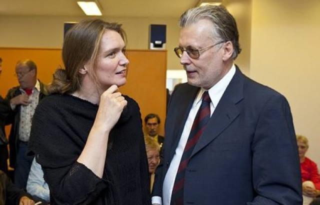 Guðfríður Lilja Grétarsdóttir og Ögmundur Jónasson.