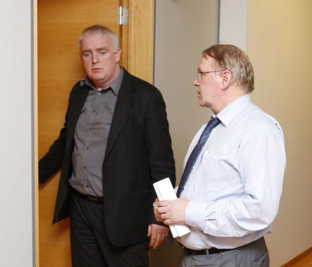 Gylfi Arnbjörsson og Vilhjálmur Egilsson.