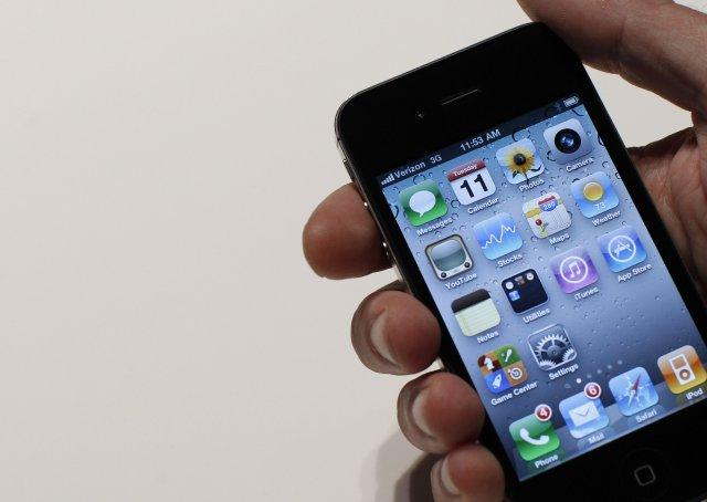 Iphone 4. Von er á iPhone 5 innan skamms.