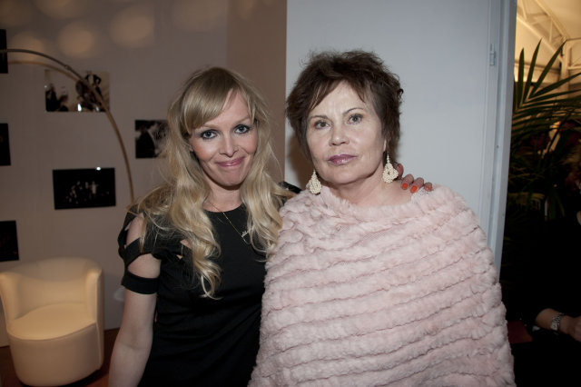 Elma Lísa Gunnarsdóttir og Margrét Helga Jóhannsdóttir.