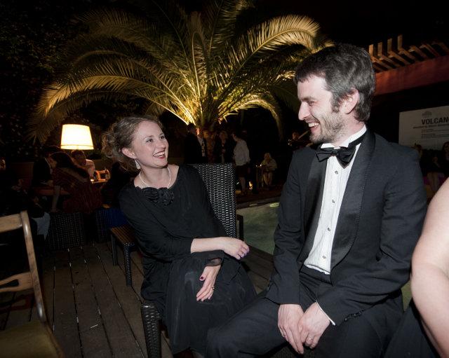 María Huld Markan og Kjartan Sveinsson.