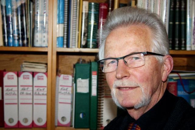 Hjörleifur Guttormsson, fyrrum ráðherra.