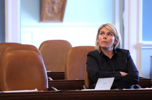 Ragnheiður Elín Árnadóttir á Alþingi.