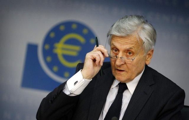 Jean-Claude Trichet, fráfarandi seðlabankastjóri Evrópska seðlabankans.