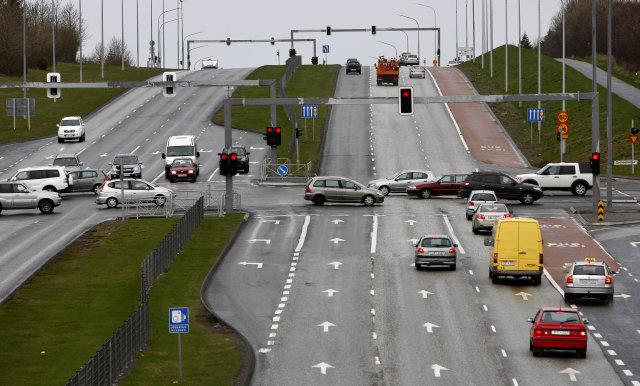 Flest hættulegustu gatnamót höfuðborgarsvæðisins eru ljósastýrð, eða nítján af tuttugu ...