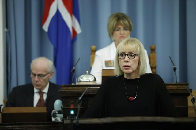 Lilja Mósesdóttir alþingismaður.