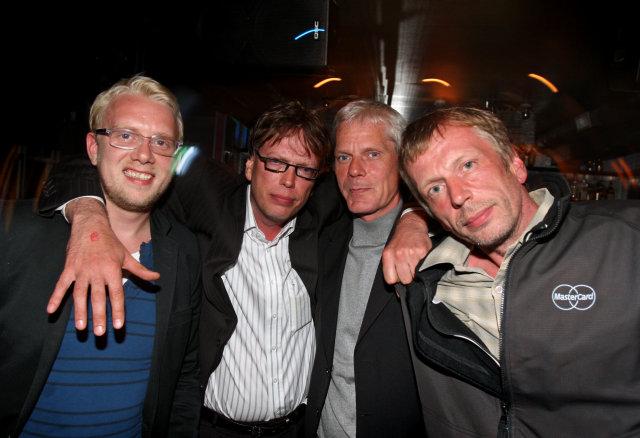 Helgi Seljan, Jakob Bjarnar Grétarsson, Kristinn Hrafnsson og Atli Geir …