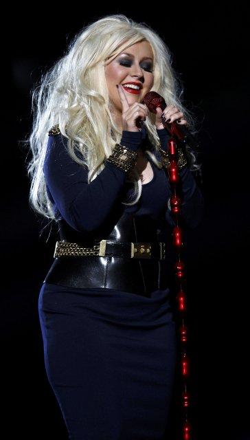 Christina Aguilera á tónleikum árið 2011.