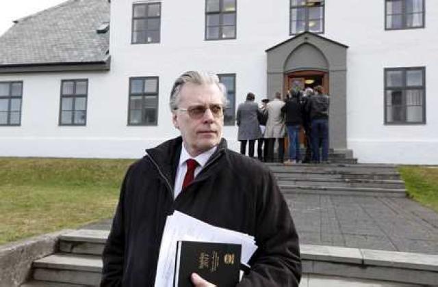 Ögmundur Jónasson innanríkisráðherra