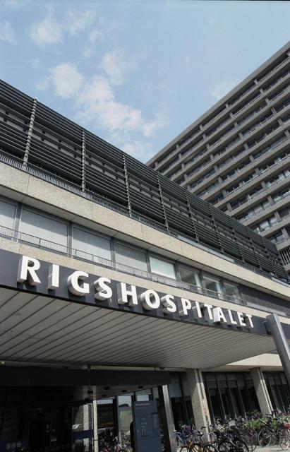 Danska ríkissjúkrahúsið, Rigshospitalet.
