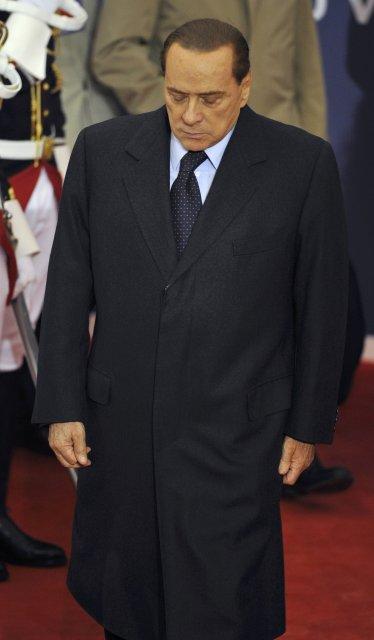Forsætisráðherra Ítalíu Silvio Berlusconi tekur nú þátt í leiðtogafundi G20-ríkjanna …