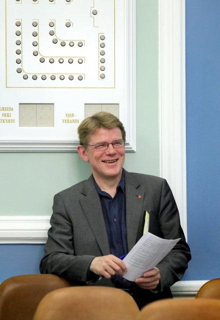 Mörður Árnason, þingmaður Samfylkingarinnar