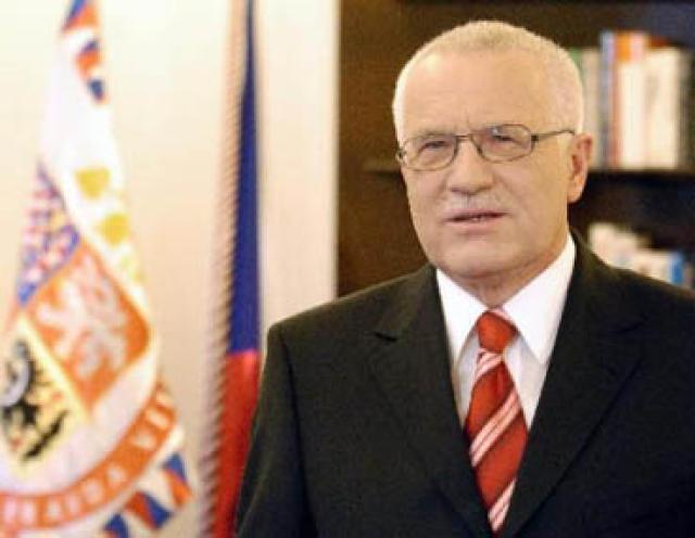 Vaclav Klaus, forseti Tékklands.