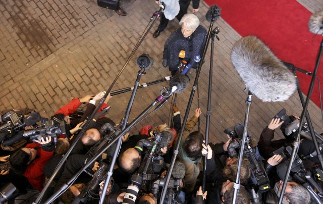 Framkvæmdastjóri AGS, Christine Lagarde, er meðal þeirra sem eru í ...