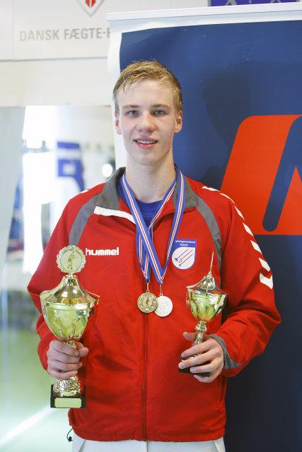 Hilmar Örn Jónsson, skylmingamaður ársins 2011.