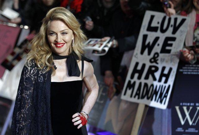 Madonna árið 2012.