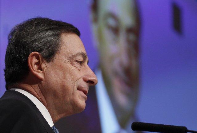 Mario Draghi, seðlabankastjóri Evrópska seðlabankans.