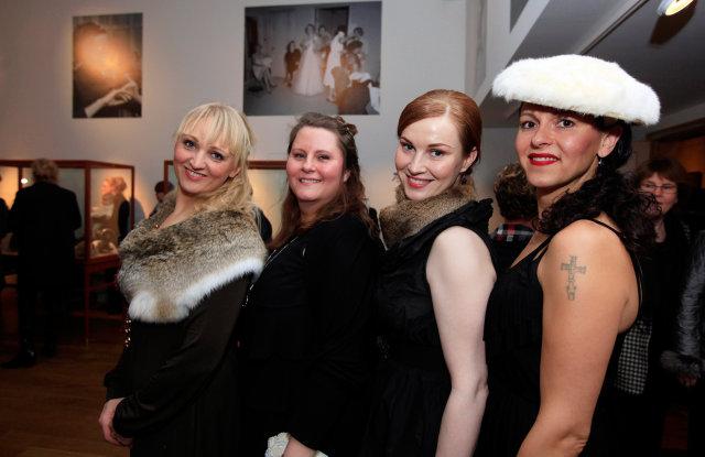 Sólveig Hannesdóttir, Katrín Hauksdóttir, Fríða Fróðadóttir og Freyja Hlíðkvist.