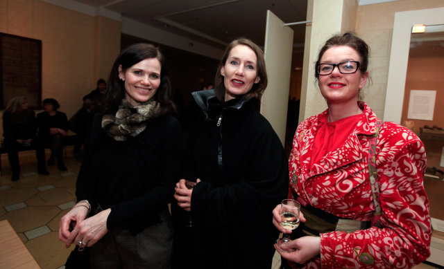 Ingunn Helga Hafstað, Helga Ingunn Stefánsdóttir og Áslaug Snorradóttir.