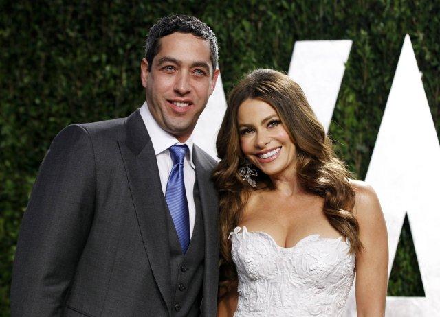 Nick Leob og Sofia Vergara árið 2012.