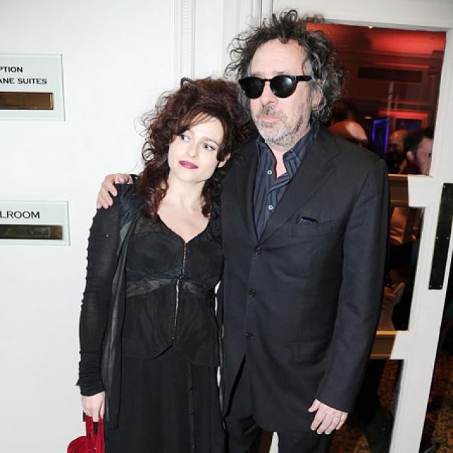 Helena Bonham Carter og Tim Burton.