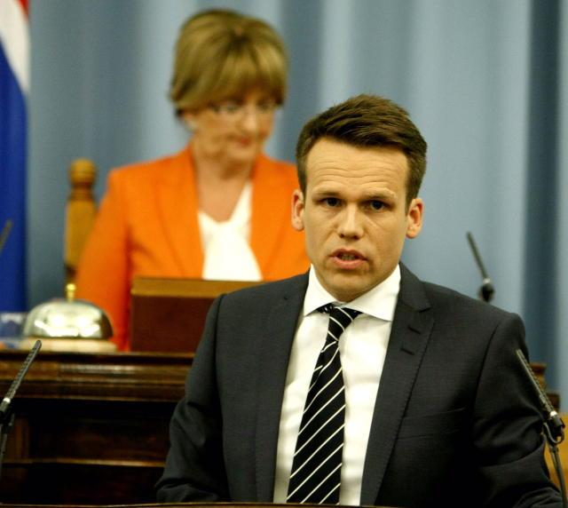 Magnús Orri Schram, þingflokksformaður Samfylkingarinnar.