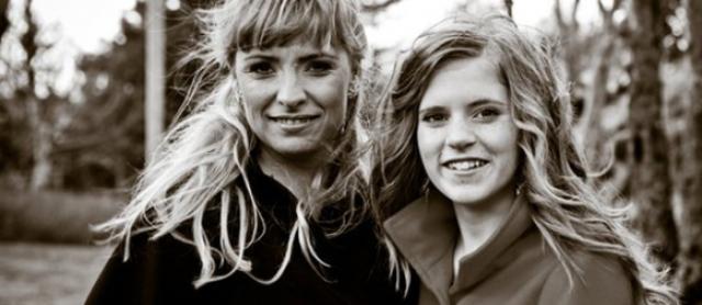 Björk Eiðsdóttir og dóttir hennar, Blær Bjarkardóttir.