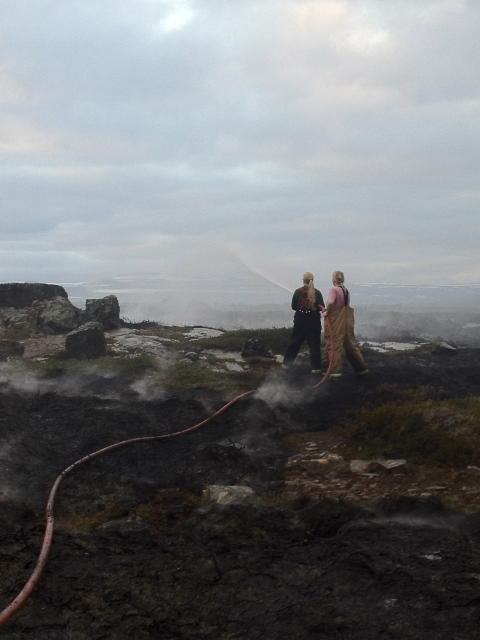 Sinubruni við Laugabólsvatn.