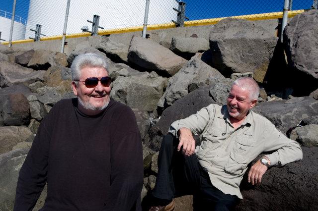 Magnús Eiríksson og Pálmi Gunnarsson.