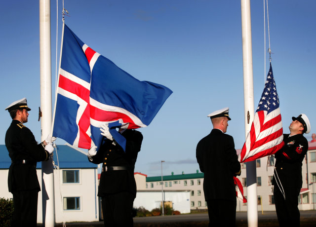 The US military ended permanent operations in Iceland in 2006.