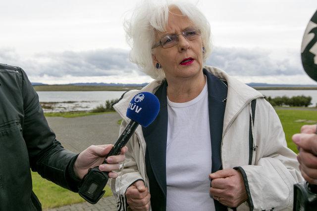 Jóhanna Sigurðardóttir, forsætisráðherra.