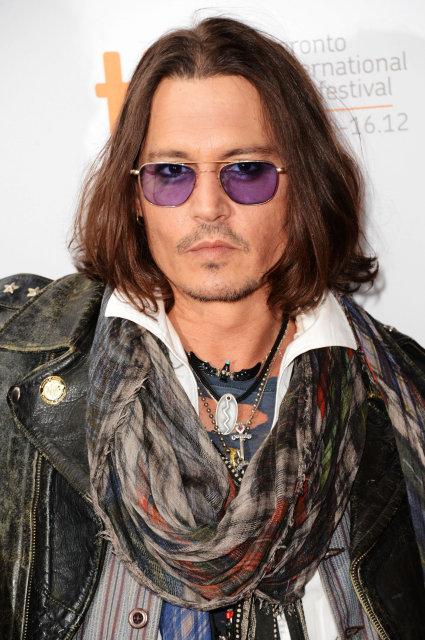 Johnny Depp mætti á frumsýningu West Of Memphis í Toronto …