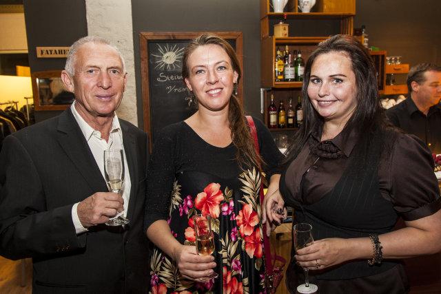 Irek, Margrét Geirsdóttir og Sigrún Elsa Smáradóttir.