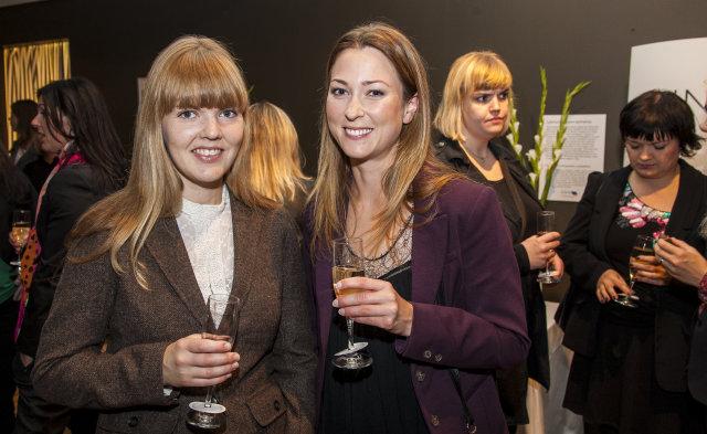 Helga Þóra og Elísabet Margeirsdóttir.