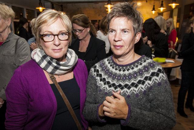 Friðný Jóhannesdóttir og Rannveig Pálsdóttir.