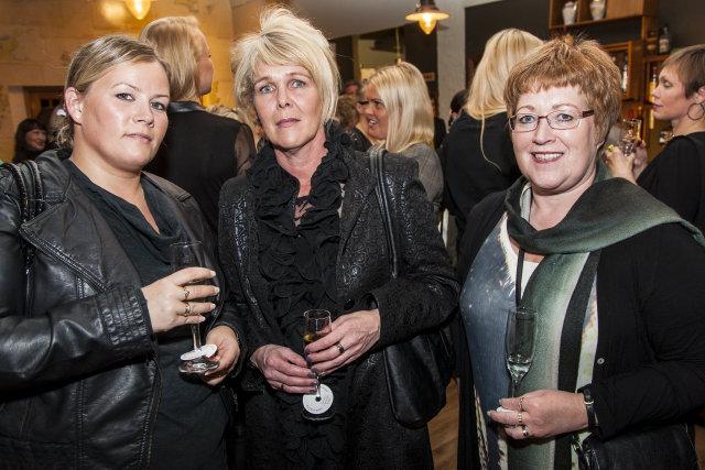 Bjarney Gunnarsdóttir, Sigrún Vilhelmsdóttir og Elín Magnea Óskarsdóttir.
