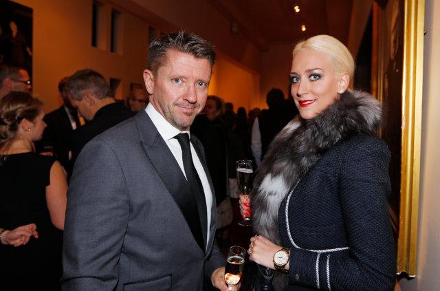Sveinn Andri Sveinsson og Kristrún Ösp Barkardóttir.