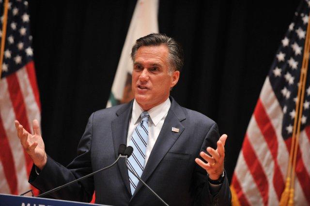 Mitt Romney, forsetaframbjóðandi Repúblikanaflokksins í Bandaríkjunum.