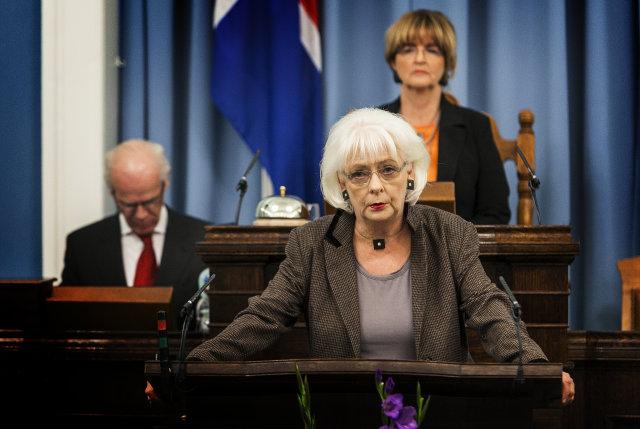 Iceland's only woman PM so far, Jóhanna Sigurðardóttir (PM 2009-13).