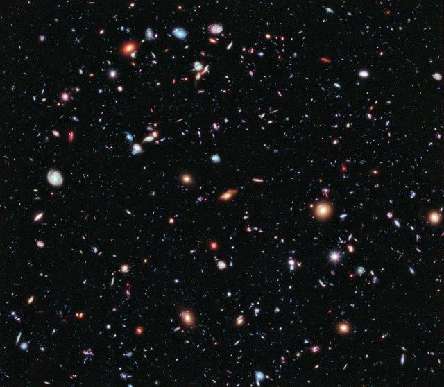 Mynd úr Hubble-geimsjónaukanum.