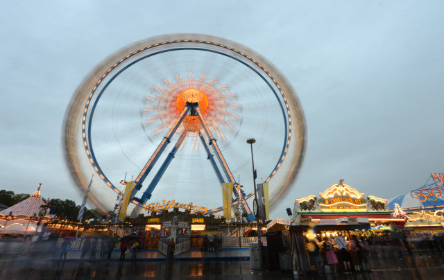 The Ferris wheel would no doubt be very popular with ...