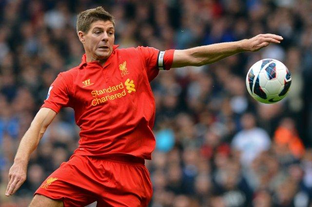 Steven Gerrard átti langan og glæsilegan feril með Liverpool.