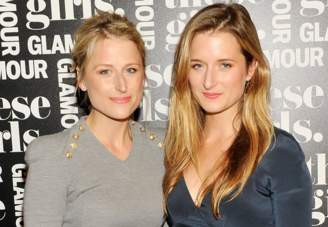Dætur Meryl Streep Mamie Gummer og Grace Gummer. Systurnar eru …
