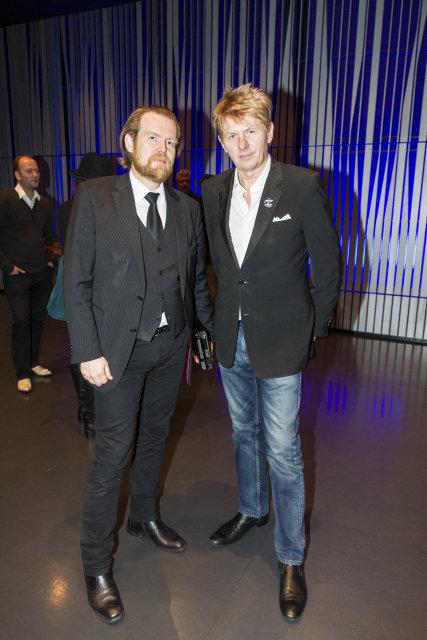 Sigurður Björn Blöndal og Jakob Frímann Magnússon.